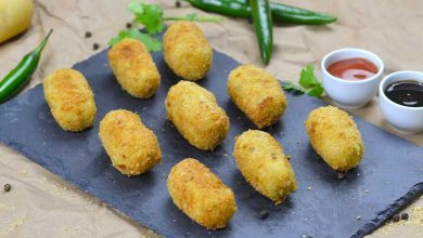Chicken and Potato Croquettes