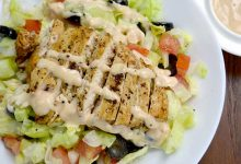 Quick Chicken Salad With Thousand Island Dressing